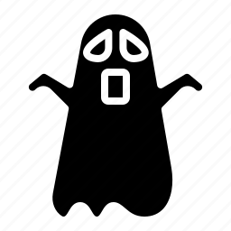 ghost, halloween, horror, scary icon