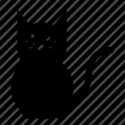 animal, cat, evil, halloween, pet, scary icon