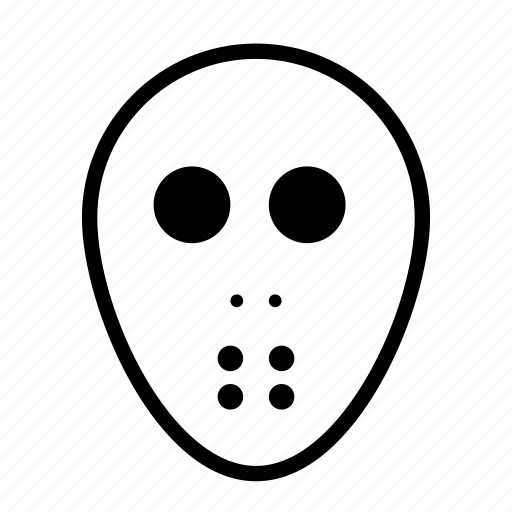 evil, halloween, mask, monster, scary icon