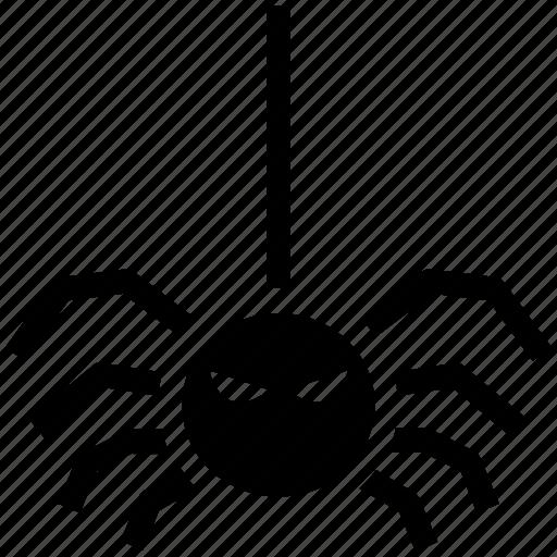 dreadful, dreadfull, fearful, fearfull, halloween spider, horrible, scary icon