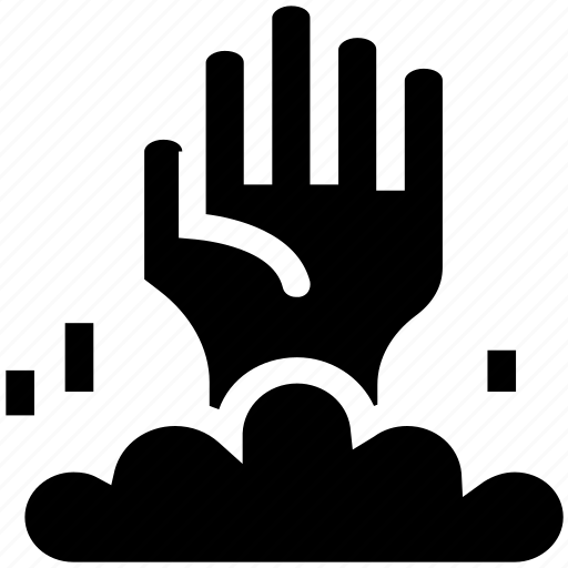 Dreadful, ghost hand, horrible, scary, witch, witch hand, woman ghost hand icon - Download on Iconfinder