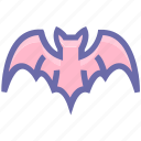 bats, dreadful, evil bats, fearful, halloween bats, horrible, scary icon