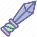 battle, dagger, halloween sword, legend, myth, sword, weapon icon