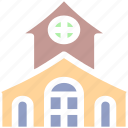 building, halloween horror castle, halloween mansion, horror castle icon