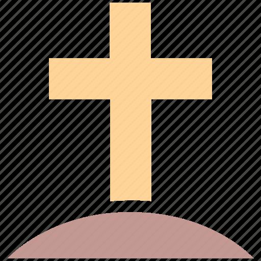 graveyard cross, halloween cross, halloween graveyard cross, tomb cross icon