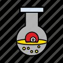 bottle, eye, flask, halloween, magic, poison, potion icon