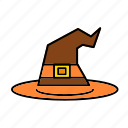 cap, halloween, hat, magic, scary, witch icon