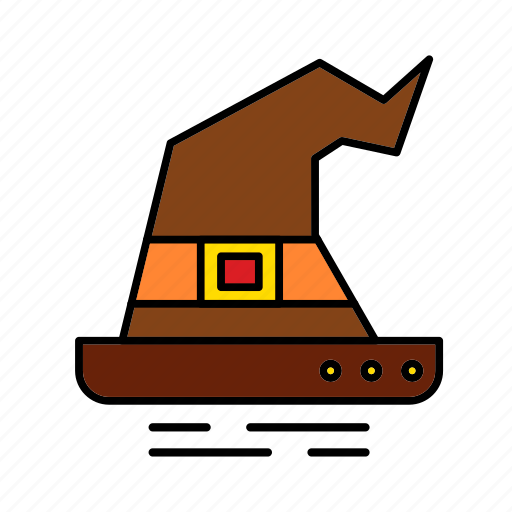 Cap, halloween, hat, magic, witch, wizard icon - Download on Iconfinder