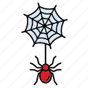 halloween, holiday, scary, spiders, spooky icon
