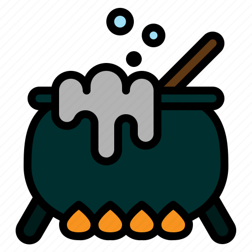 Cauldron, halloween, horror, poison, pot, spooky, witch icon - Download on Iconfinder