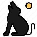 animal, animals, dog, halloween, howl, howling, pet