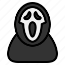 dead, evil, ghost, halloween, horror, mask, scream