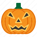 bulb, festival, halloween, lamp, light, pumpkin, scary icon
