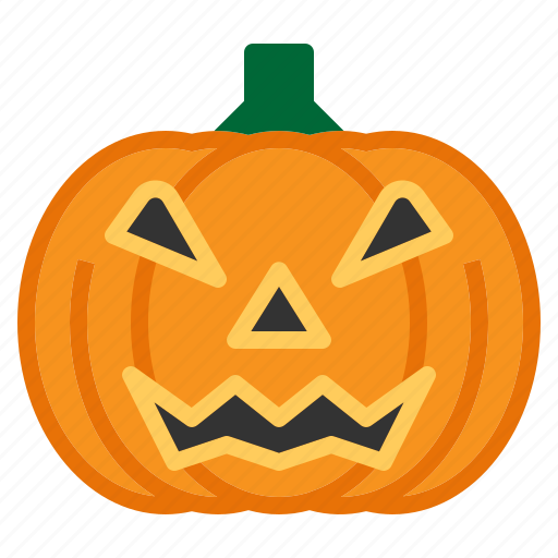 Bulb, festival, halloween, lamp, light, pumpkin, scary icon - Download on Iconfinder