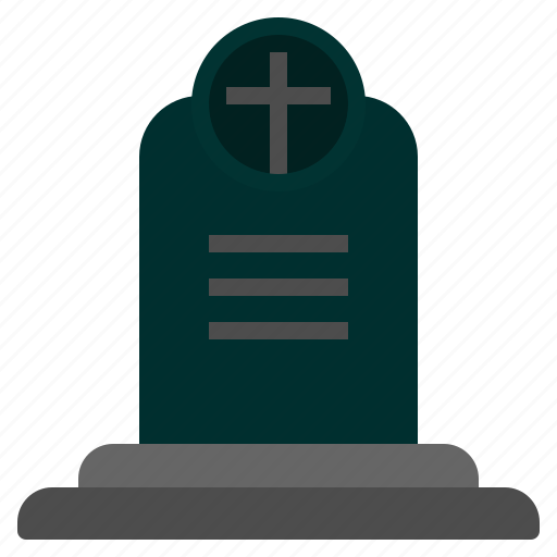 Cemetery, cross, death, grave, graveyard, halloween, tombstone icon - Download on Iconfinder