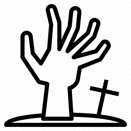 Fingers, ghost, halloween, hand, horror, scary, zombie icon - Download on Iconfinder