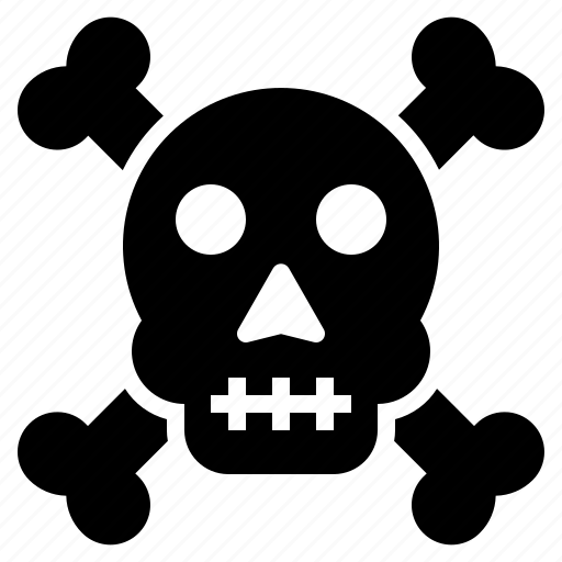 Bones, cross, death, halloween, scary, skull, spooky icon - Download on Iconfinder