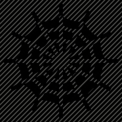 bug, halloween, internet, network, spider, spiderweb, web icon