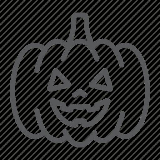 Autumn, decoration, food, halloween, holiday, pumpkin, vegetable icon - Download on Iconfinder
