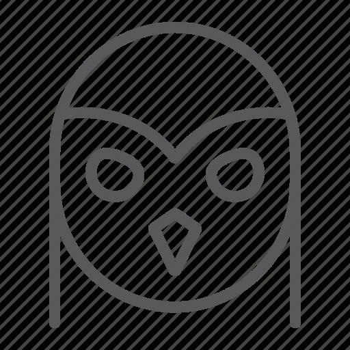 animal, bird, halloween, owl, wild icon