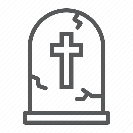 burial, bury, cemetery, death, grave, halloween, tombstone icon