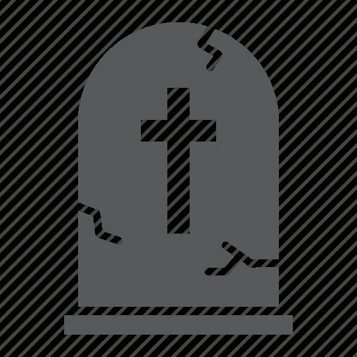 burial, bury, cemetery, death, grave, halloween, tombstone icon