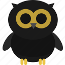 animal, event, halloween, holiday, horror, owl, party icon