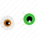 event, eyes, halloween, holiday, horror, monster, party icon