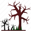 event, forest, halloween, holiday, horror, party, tree icon