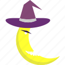 event, halloween, holiday, horror, monster, moon, party icon