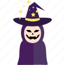 event, halloween, holiday, horror, monster, party, witch icon