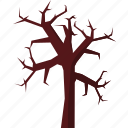 event, halloween, holiday, horror, party, tree icon