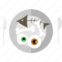 event, food, halloween, holiday, horror, party icon