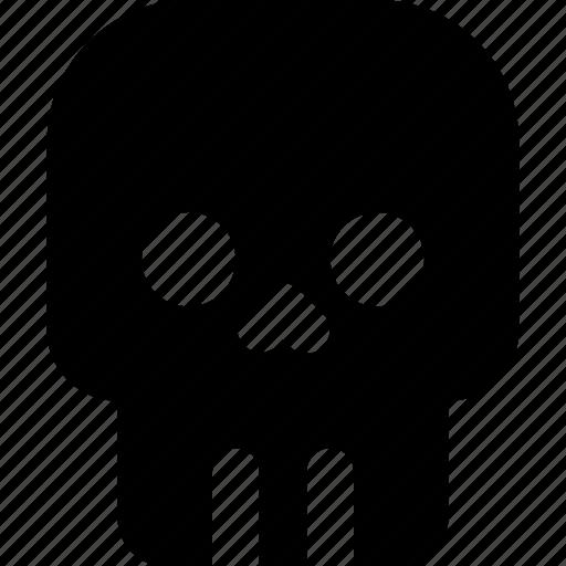 autumn, celebration, halloween, holiday, horror, scary, skull icon