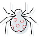 bee, costume, halloween, headband icon, spider icon