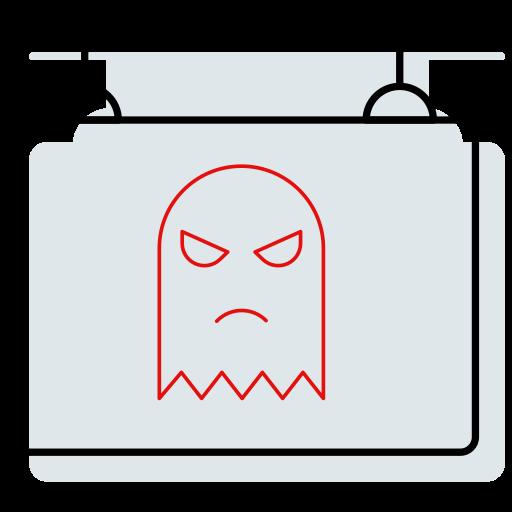 board, halloween shape, hanging, shop, sign icon