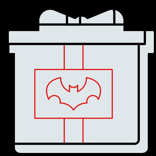 bat, candy, gift, halloween, present icon icon