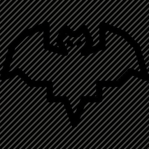 bat, halloween icon