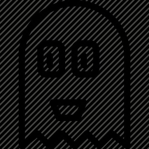 casper, friendly, ghost, halloween, haunt, pacman icon