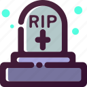 creepy, death, ghost, grave, halloween, scary, spooky icon