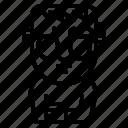 frankenstein, frightening, scary, spooky, terror icon