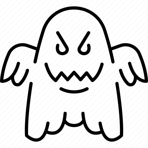 Halloween Monster Ghost Phantom Icon
