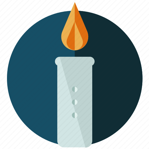 candle, flame, halloween, light, night, nightmare icon