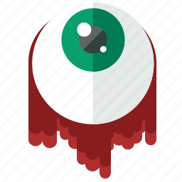 ball, decoration, eye, halloween, scary, see icon