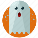 boo, ghost, halloween, nightmare, scary, spirit icon
