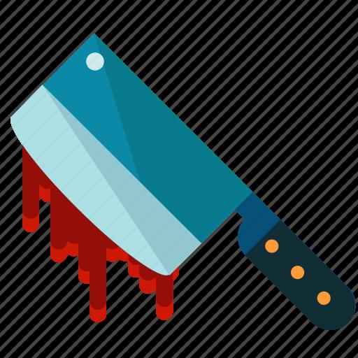 butcher, halloween, killer, knife, nightmare icon
