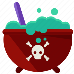 cauldron, halloween, mixture, nightmare, poison, scary, witch icon