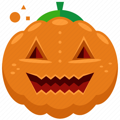 decoration, halloween, nightmare, pumpkin, scary, smile icon
