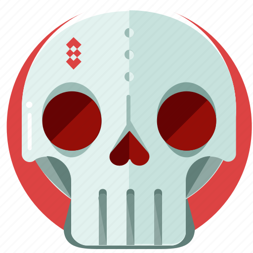 deadly, death, halloween, scary, skeleton, skull icon