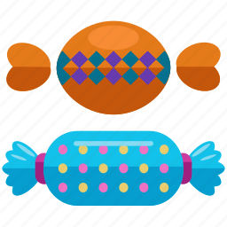 candy, halloween, sweets, treat, treats, trick, wrapper icon